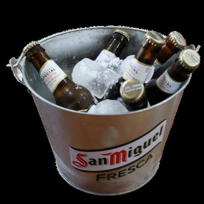 Cubos de cerveza - pepito Patatón