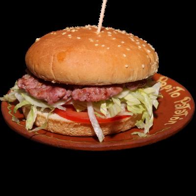 Hamburguesa - pepito Patatón